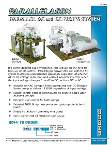 Parallelagon Series Water System Flyer